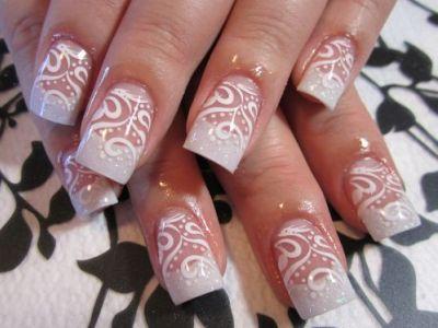 Нарисовать ногти дома 181