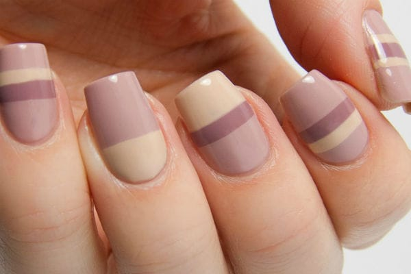 Дизайн ногтей в спокойных тонах