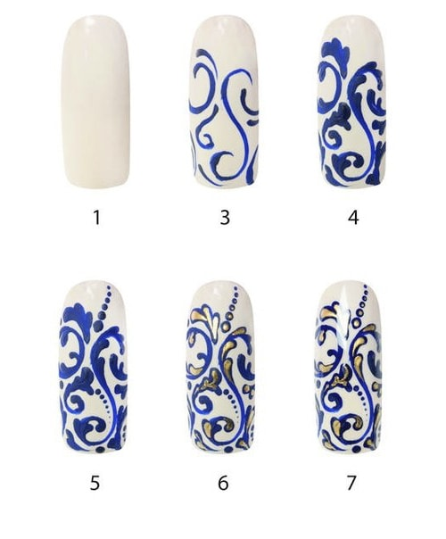 Рисунки на ногтях свадебные рисунки
