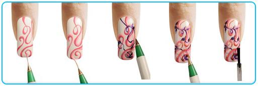 Хохлома на ногтях: поэтапное руководство по выполнению дизайна ногтей