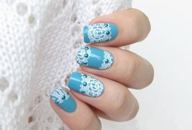 Дизайн ногтей гель пастой