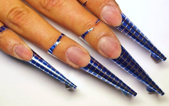 Простые Рисунки На Ногтях Белым Лаком Фото