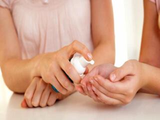 Дезинфекция ногтей