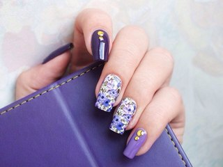 Дизайн натуральных ногтей: фото декора и украшений для