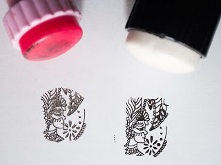 Штамп и рисунок