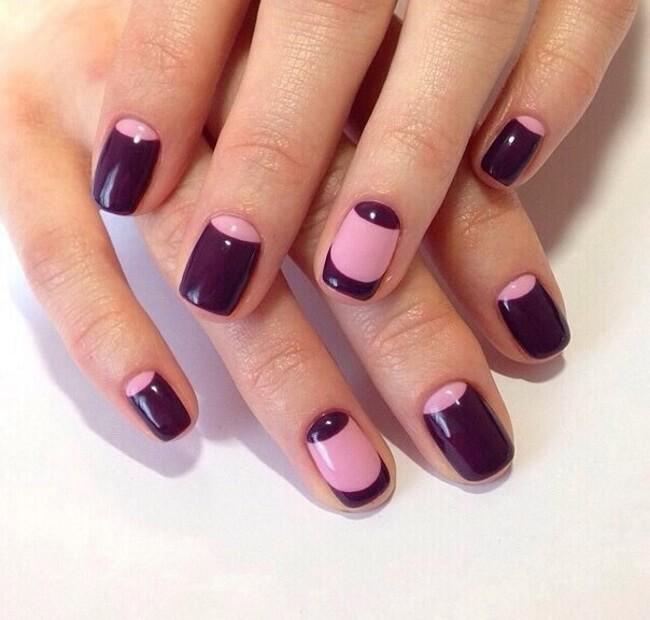 Маникюр на короткие ногти (50 фото) — Модный дизайн
