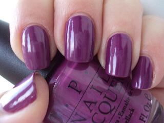 Фиолетовый лак