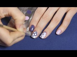 Трафареты для рисования на ногтях