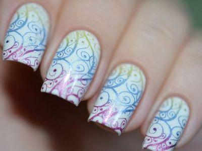Какой кистью рисовать вензеля на ногтях