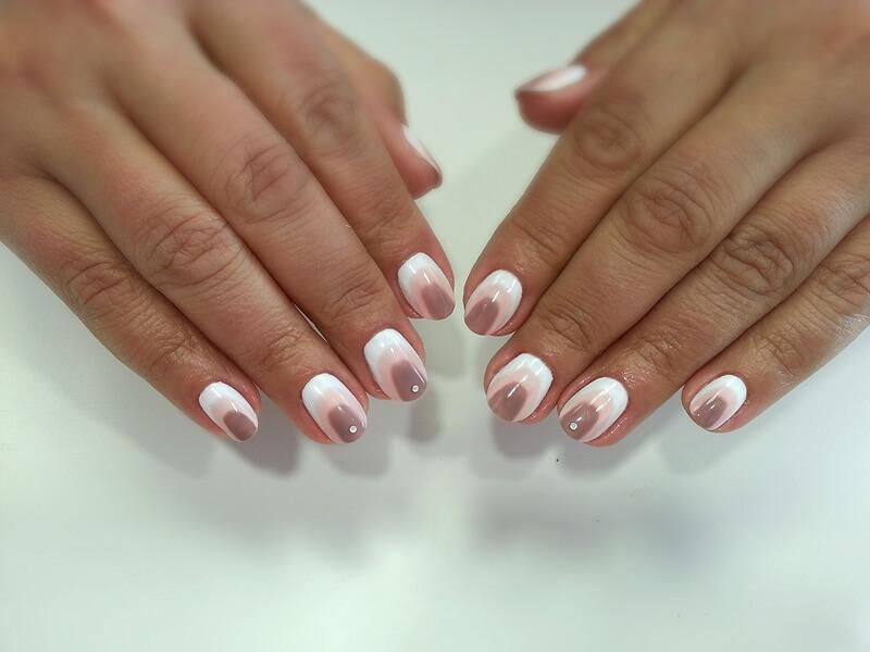 Цвета шеллак на ногтях
