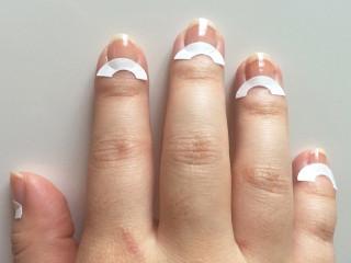 Наклейки для маникюра на ногтях