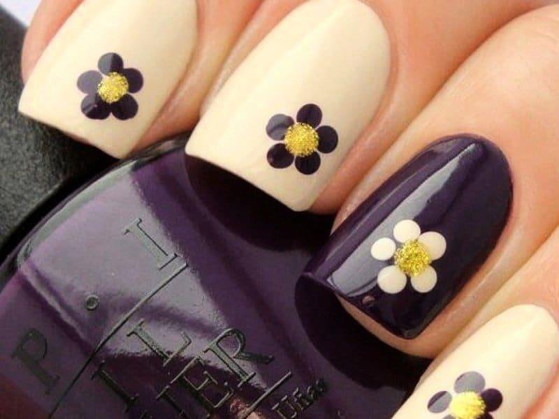 Дизайн легкий ногти