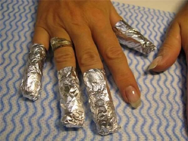 Как в домашних условиях снять ногти нарощенные гелем в домашних условиях