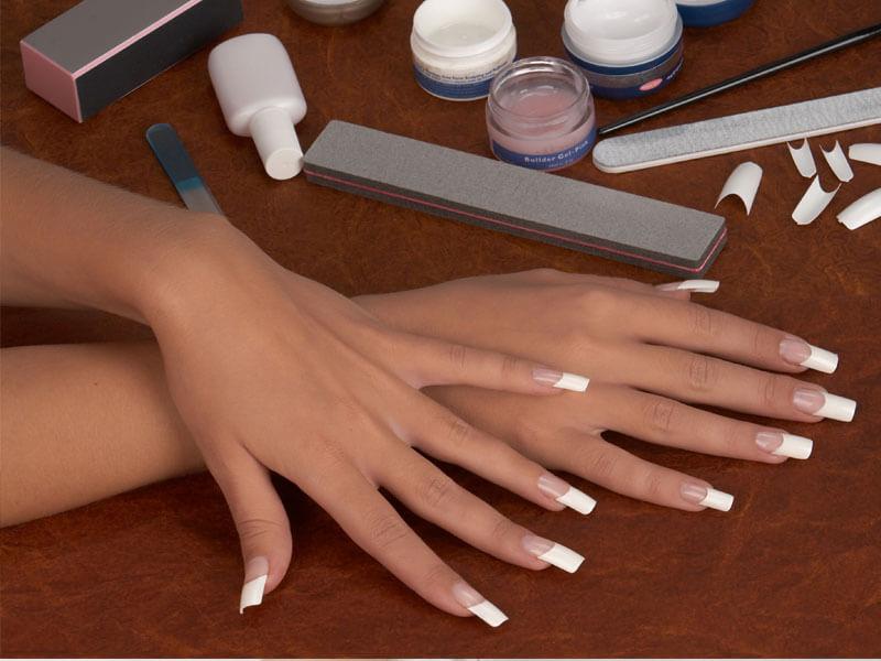 Как нарастить ногти типсами