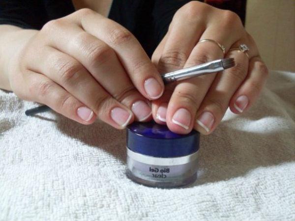 Укрепить ногти биогелем в домашних условиях