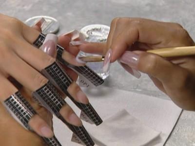 наращивание ногтей акрилом пошаговая инструкция с фото - фото 6