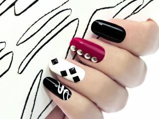Материалы для рисунков на ногтях