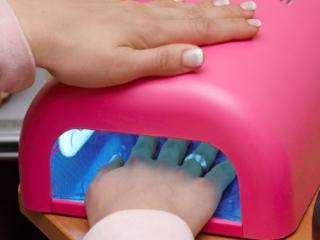 Сушение ногтей