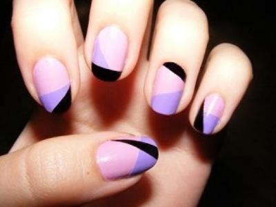 Как рисовать на ногтях лаком в домашних условиях