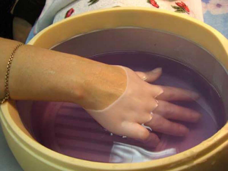 Ванночки для рук в домашних условиях от трещин