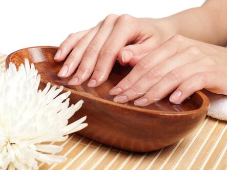 Как делают ванночку для ногтей