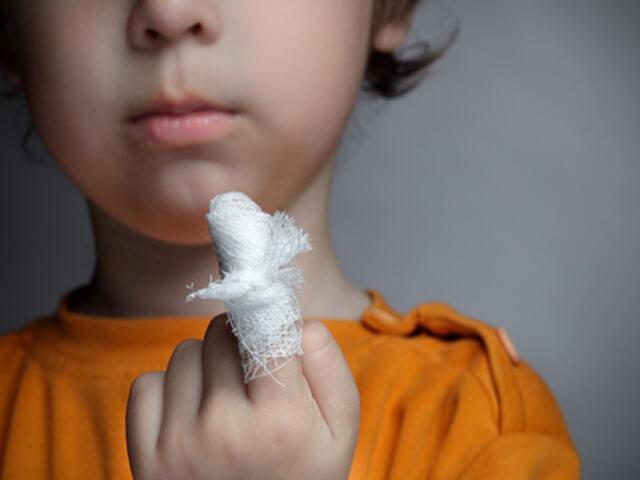 Оторвал заусенец загноился палец на ноге 9